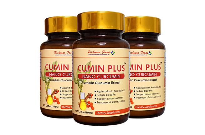 Cumin Plus - Nano Cuccumin giải rượu hiệu quả, hỗ trợ điều trị viêm loét dạ dày