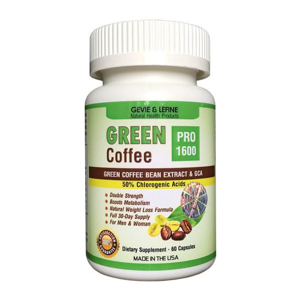 Cà phê giảm cân Green Coffee Pro 1600 mg