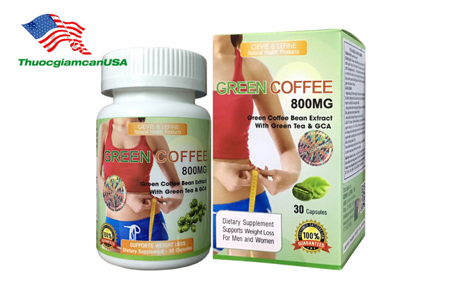Green Coffee 800mg - Green Coffee Bean Exreact 800mg