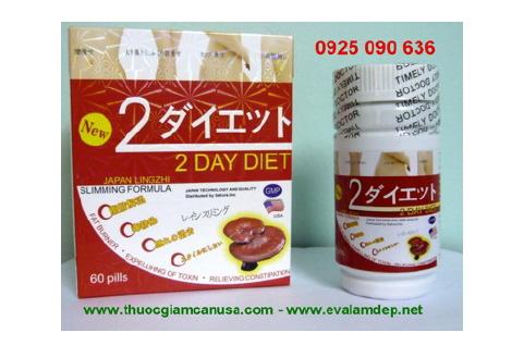 2 DAY DIET USA - Viên uống giảm cân 2 Day Diet Mỹ, 2 Day diet chính hãng
