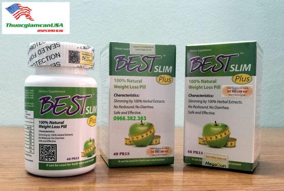 Best Slim Plus (USA) - Viên giảm cân chính hãng, an toàn