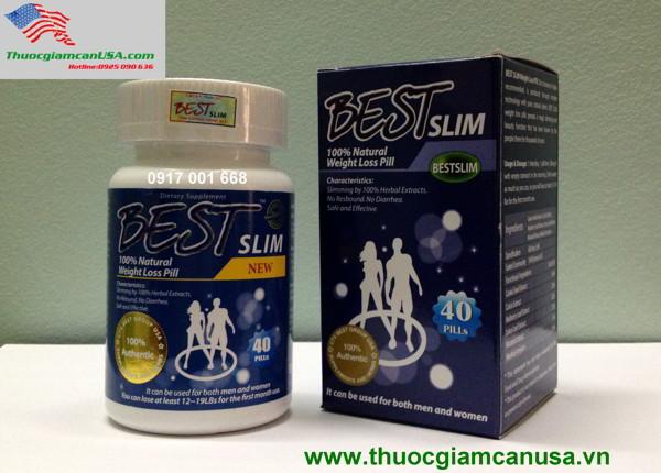 BEST SLIM  USA - Viên giảm cân của Mỹ