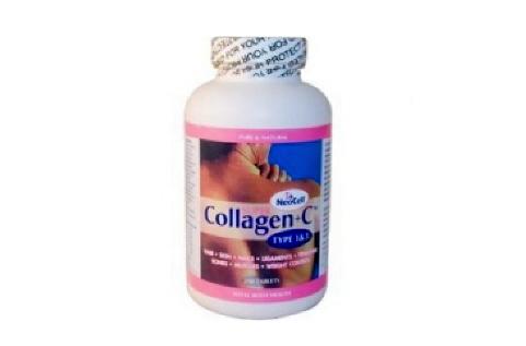 Collagen + C - Viên collagen giúp da trẻ đẹp, trắng hồng, chống nhăn da