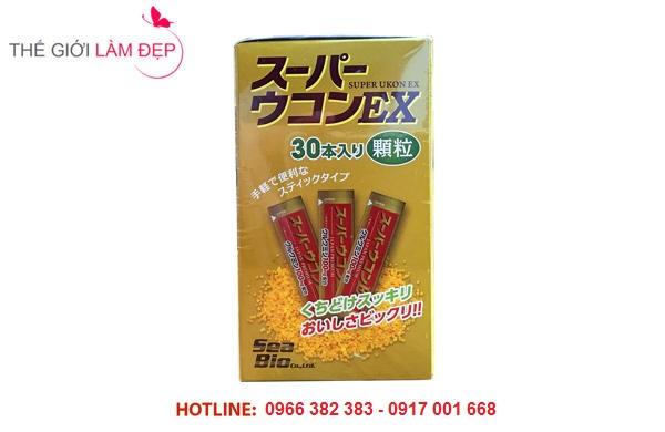 Cốm giải rượu Super Ukon EX Nhật Bản