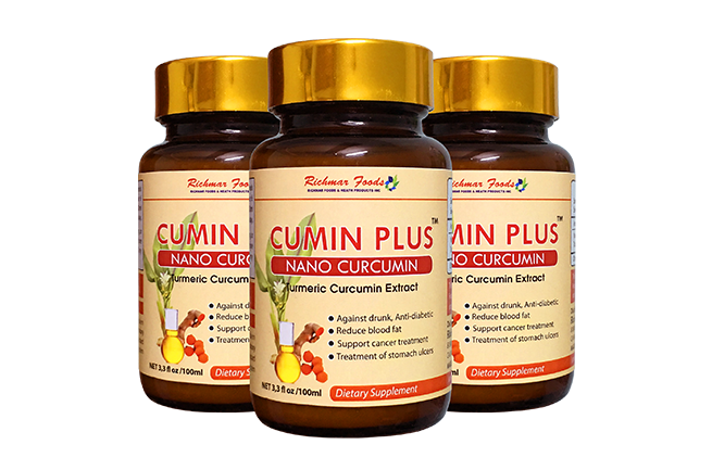Nano Curcumin - Cumin Plus, hỗ trợ giải rượu, điều trị dạ dày hiệu quả hàng đầu