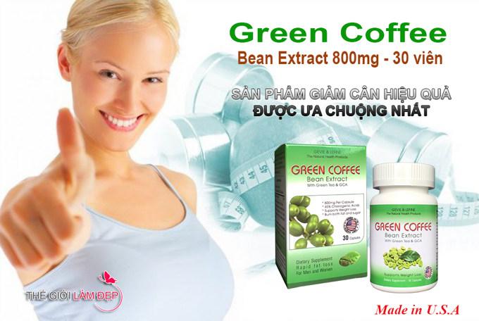 Review ( Đánh giá ) Green Coffee Bean Extract 800mg - Hộp 30 viên từ người dùng