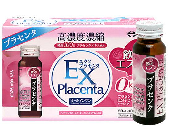 EX Placenta - Nước uống nhau thai cừu Explacenta bổ sung Collagen