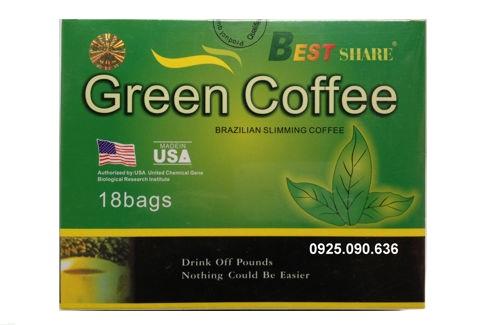 Cà phê giảm cân Green Coffee, Trà giảm cân Green Coffee Chính hãng