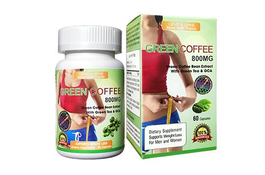 Cà Phê giảm cân GREEN COFFEE BEAN EXTRACT 800MG - TPCN GIÚP GIẢM CÂN