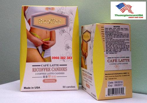 Kẹo giảm cân Ricoffee, Kẹo giảm béo Ricoffee số 1 về hiệu quả an toàn