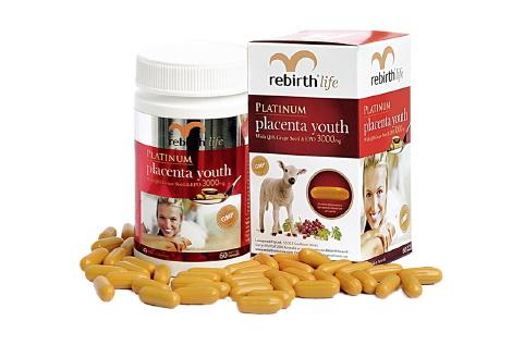 Nhau thai cừu Rebirth life- Nhau thai cừu Úc, trẻ hóa da từ bên trong