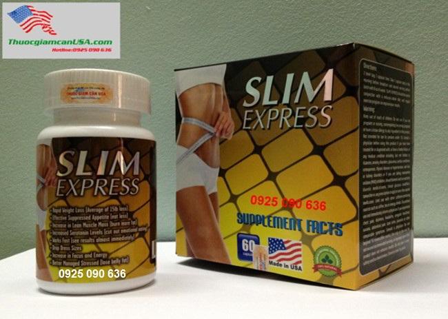 Slim Express, Viên giảm cân slim express chiết xuất từ thảo dược