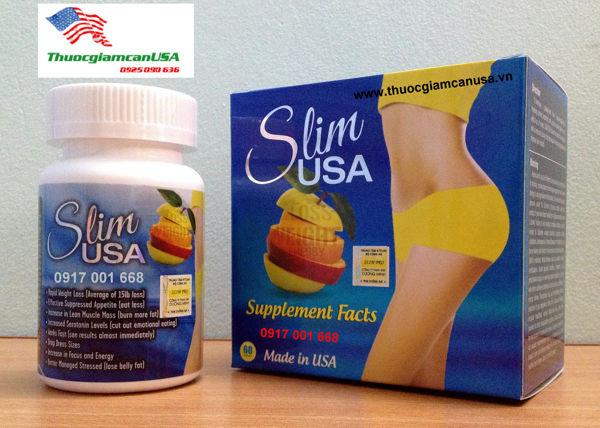 Viên uống giảm cân Slim Usa nhập khẩu rất tốt cho bạn