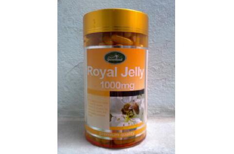 Royal Jelly 1000mg - Sua ong chua, Sữa ong chúa Úc chăm sóc sức khỏe