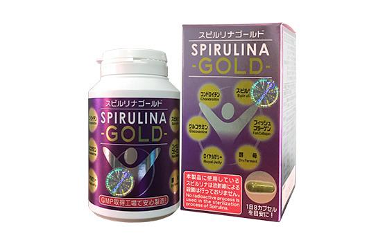 Tảo biển Spirulina Gold 240 Viên Nhật Bản