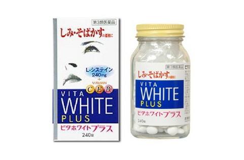VITA White Plus CEB2 - Viên trị nám da, đốm nâu, giúp trắng sáng, chống lão hóa
